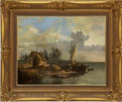 Peinture Jean-Louis François Boulanger