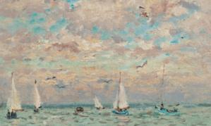 Peinture André Hambourg