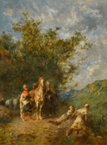 Peinture Eugène Fromentin