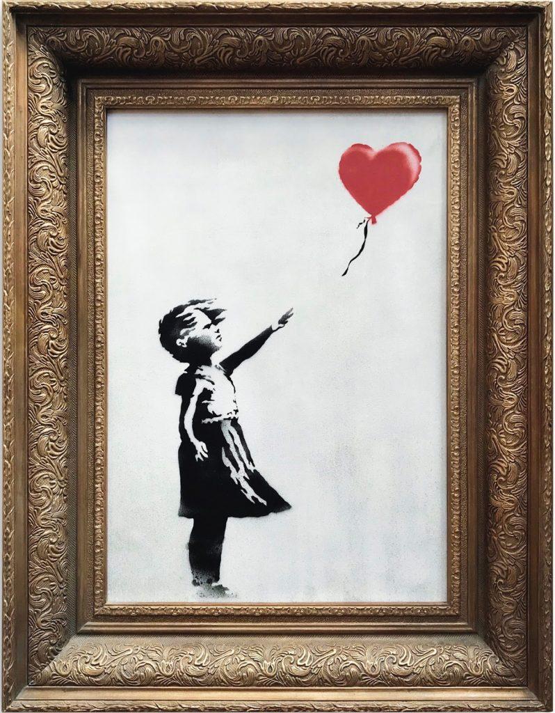 peinture Banksy