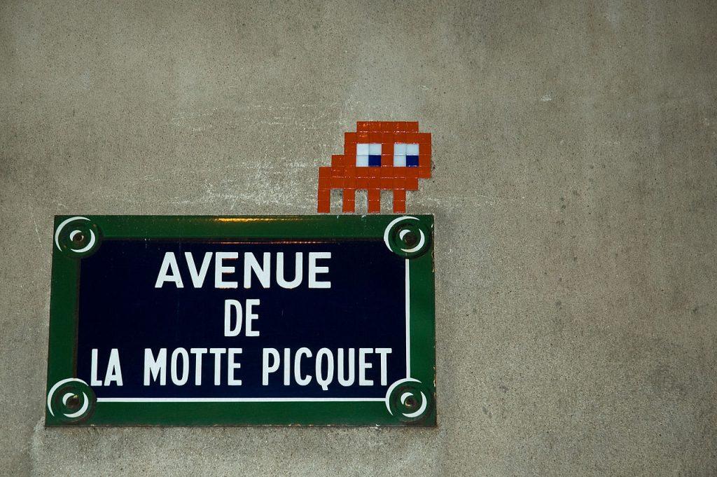 Invader Paris