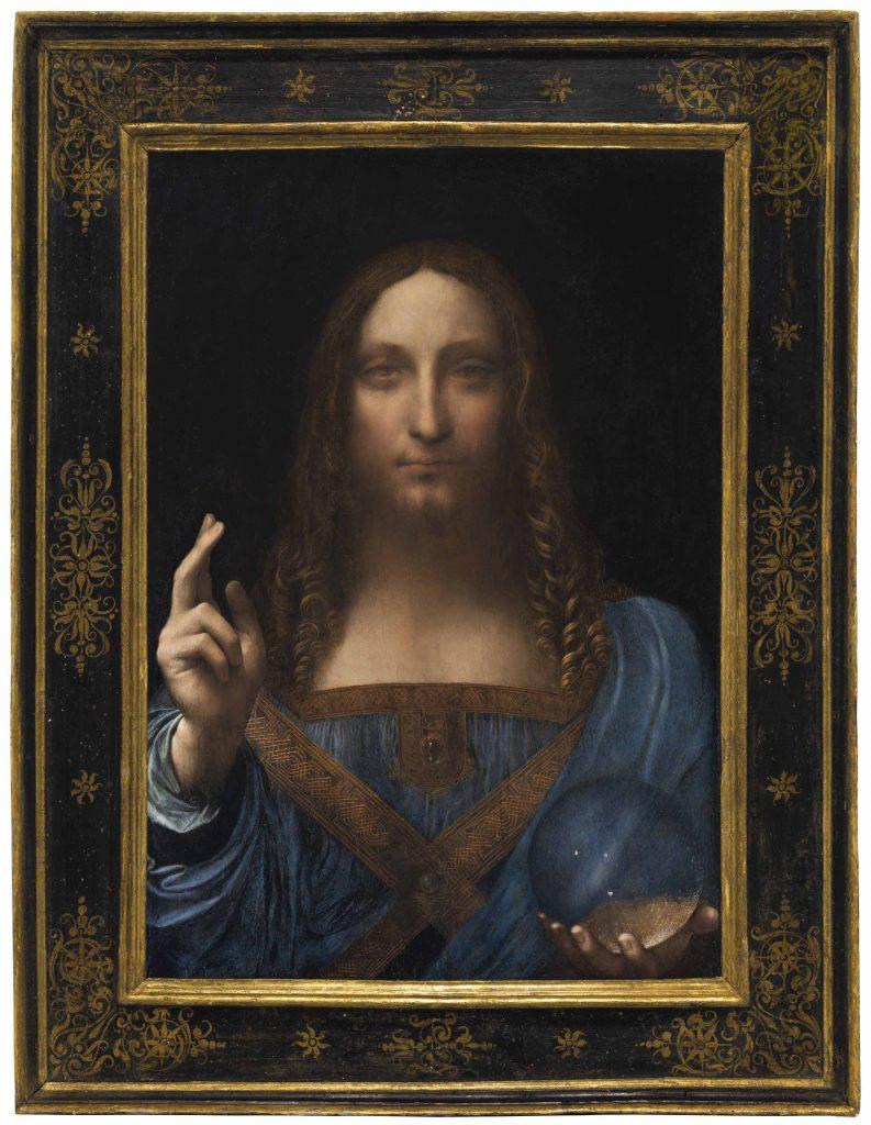 Salvator Munid, Léonard de Vinci