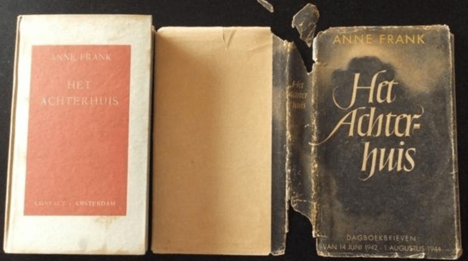 Première version du journal d'Anne Frank, vendu à plus de 7 000 euros