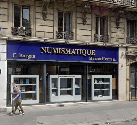 Numismatique à Paris, 2ème arrondissement