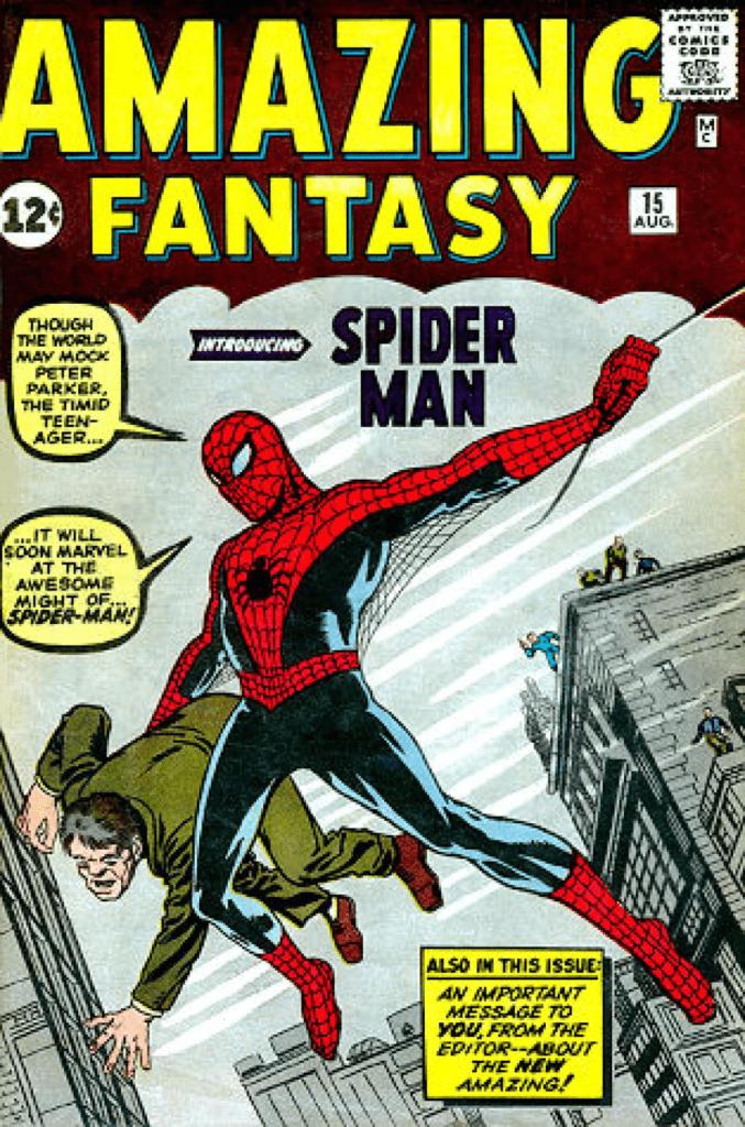 15e épisode d'Amazing Fantasy,  Rare comics