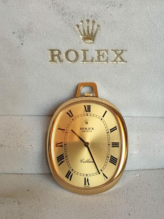 Montre à gousset en or, Rolex