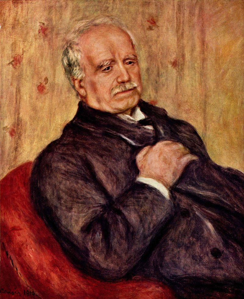 Portrait de Paul Durand-Ruel, par Auguste Renoir