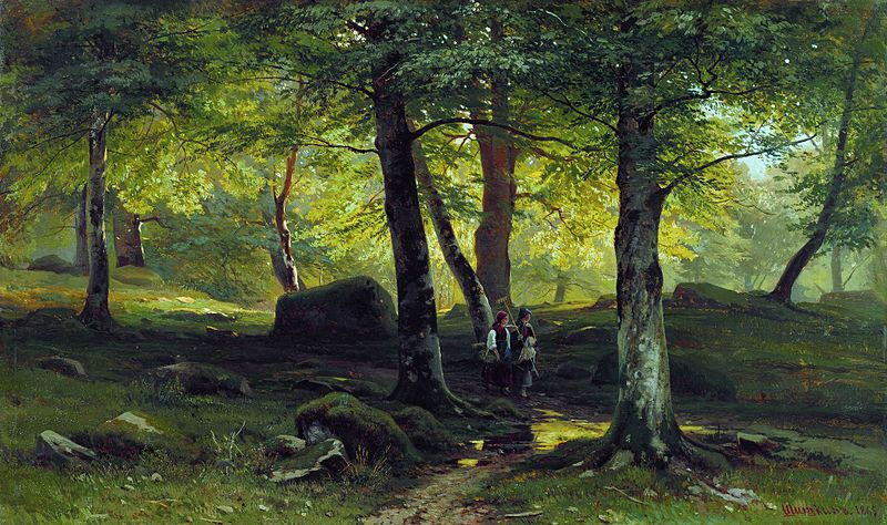 tableau Ivan Chichkine