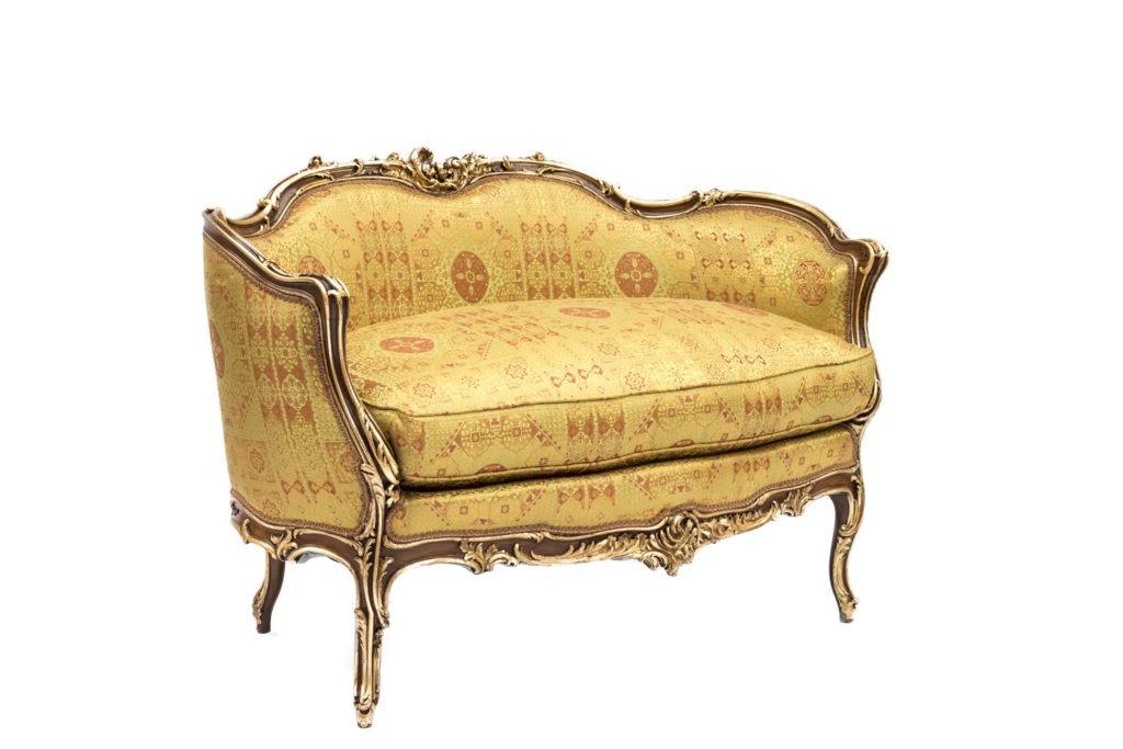 Canapé style Rocaille d'Italie