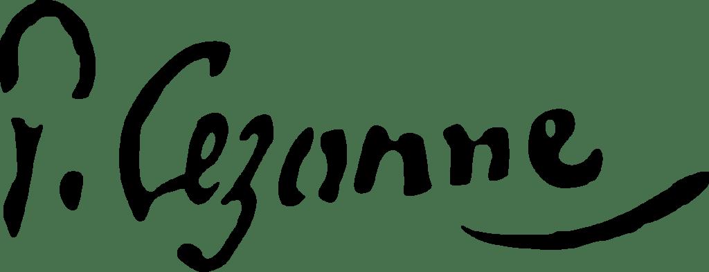 Signature de Paul Cézanne