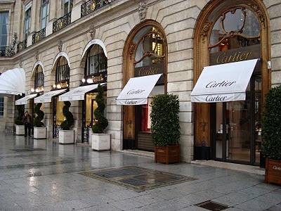 Bijouteries Place Vendôme, Paris