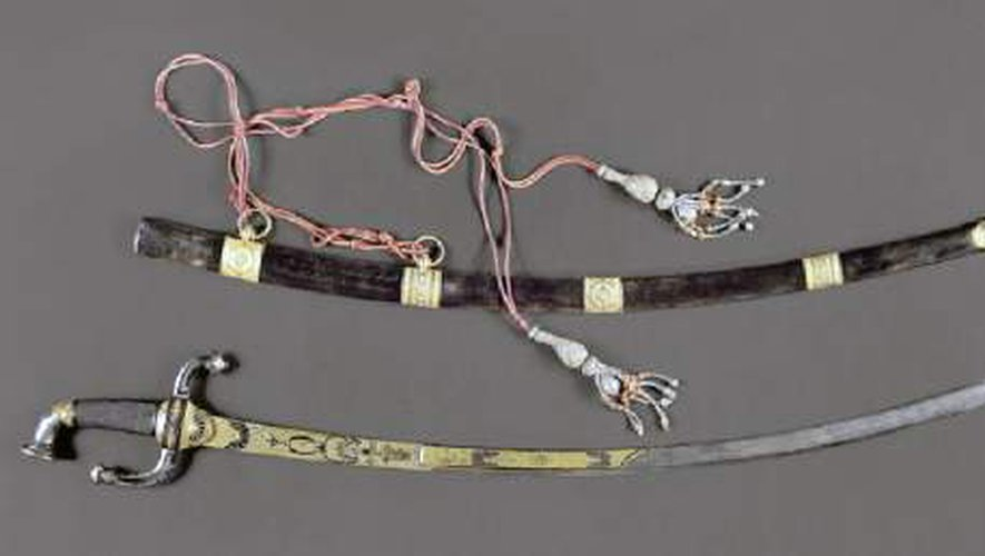 Épée portée par Bonaparte Premier Consul lors de la bataille de Marengo