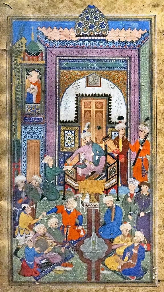 Exemple d'une peinture persane