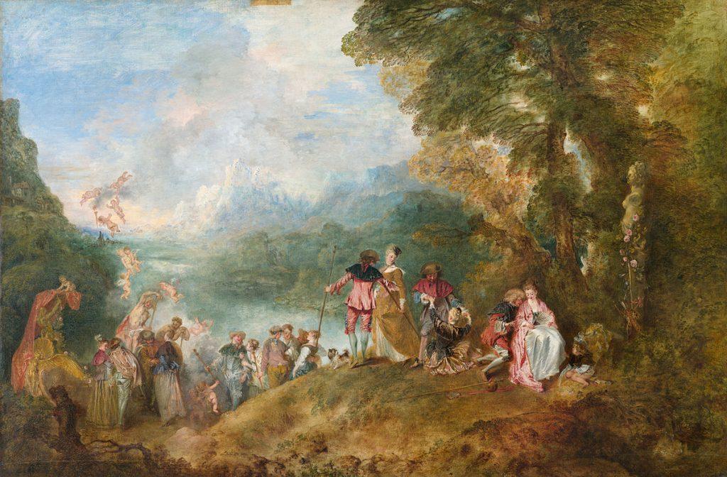 Pelerinage à l'île de la Cythère, Antoine Watteau