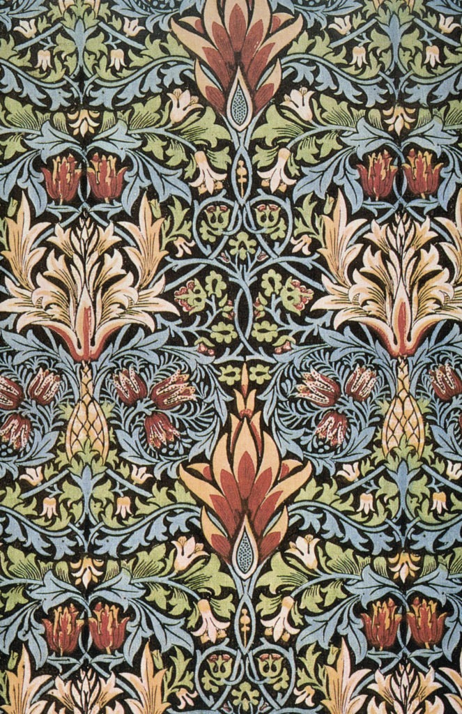 Textile peint, William Morris