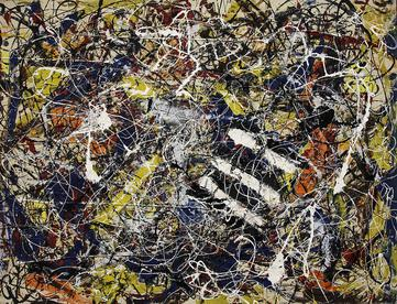 Estimation Jackson Pollock