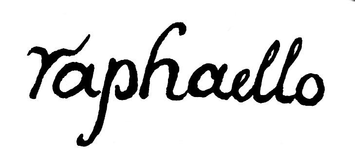 Exemple de signature de Raphaël
