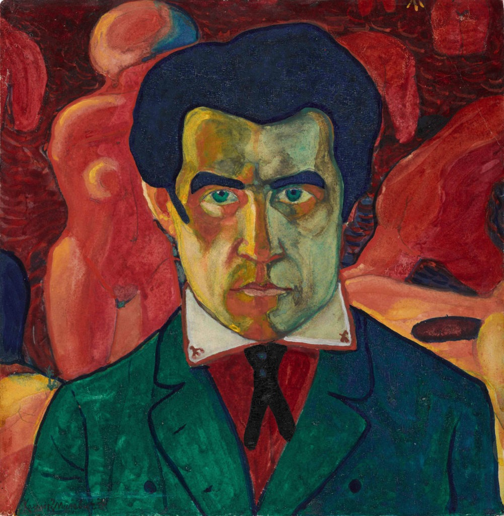 Autoportrait, Kazimir Malevitvh