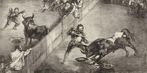 Lithographie de Goya