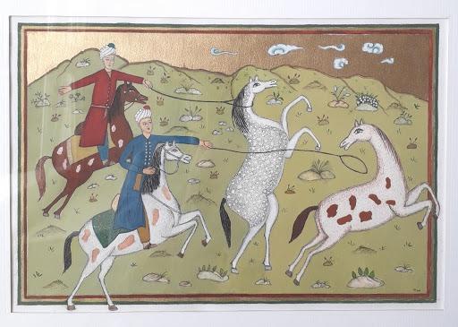 Exemple d'une scène de chasse