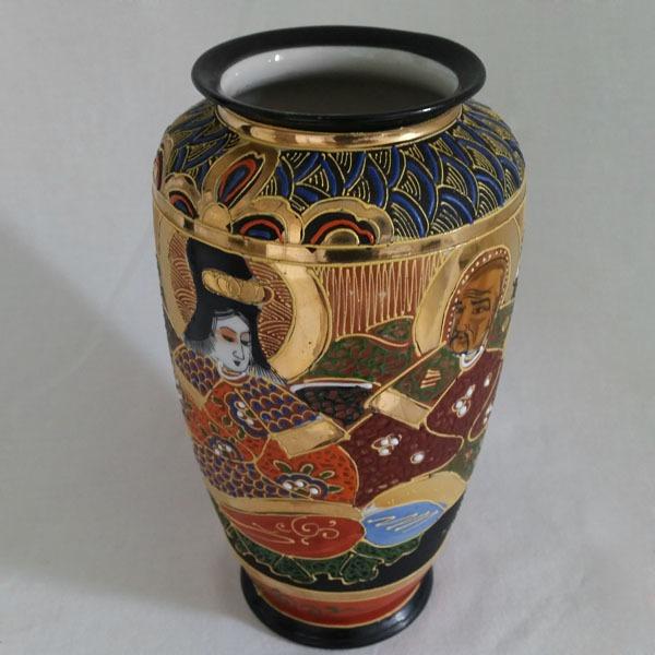 Exemple de vase japonais Satsuma