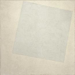 carré blanc Kasimir Malevitch