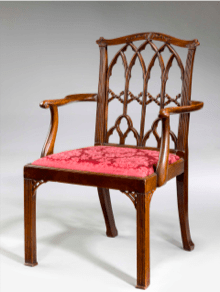 Chaise Thomas Chippendale