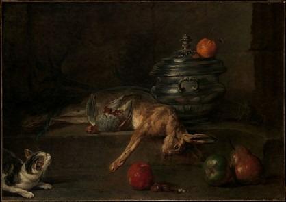 tableau rococo Chardin