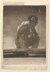 dessin rococo Goya
