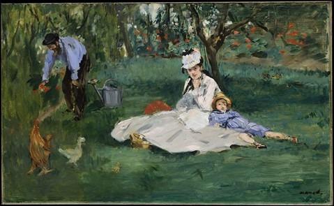 Tableau Édouard Manet