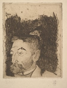 Portrait Paul Gauguin