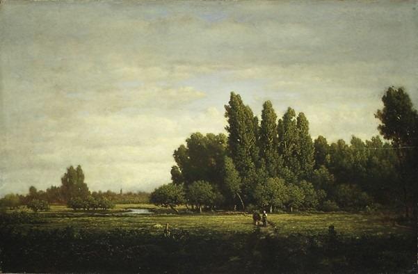 Rousseau tableau romantique