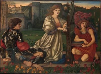 Tableau Edward Burne-Jone