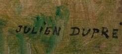 signature julien dupré