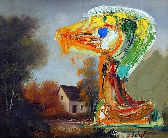 peinture Asger Jorn