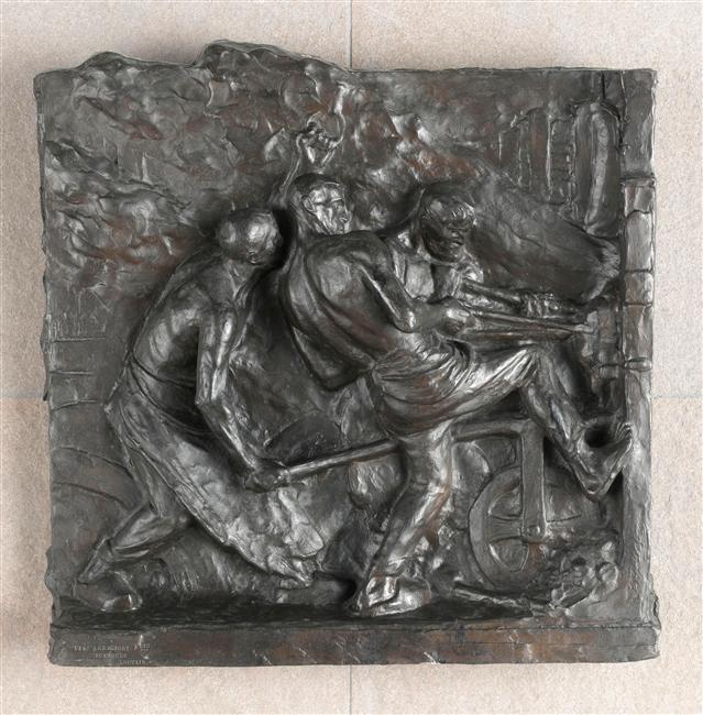 Bronze Constantin Meunier