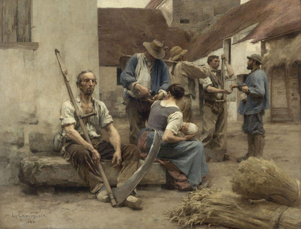 peinture Léon Lhermitte
