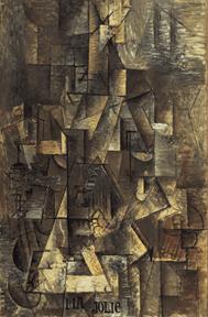Tableau cubiste Picasso