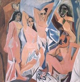 tableau Demoiselles Avignon
