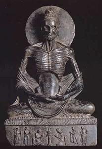 Bouddha ascète