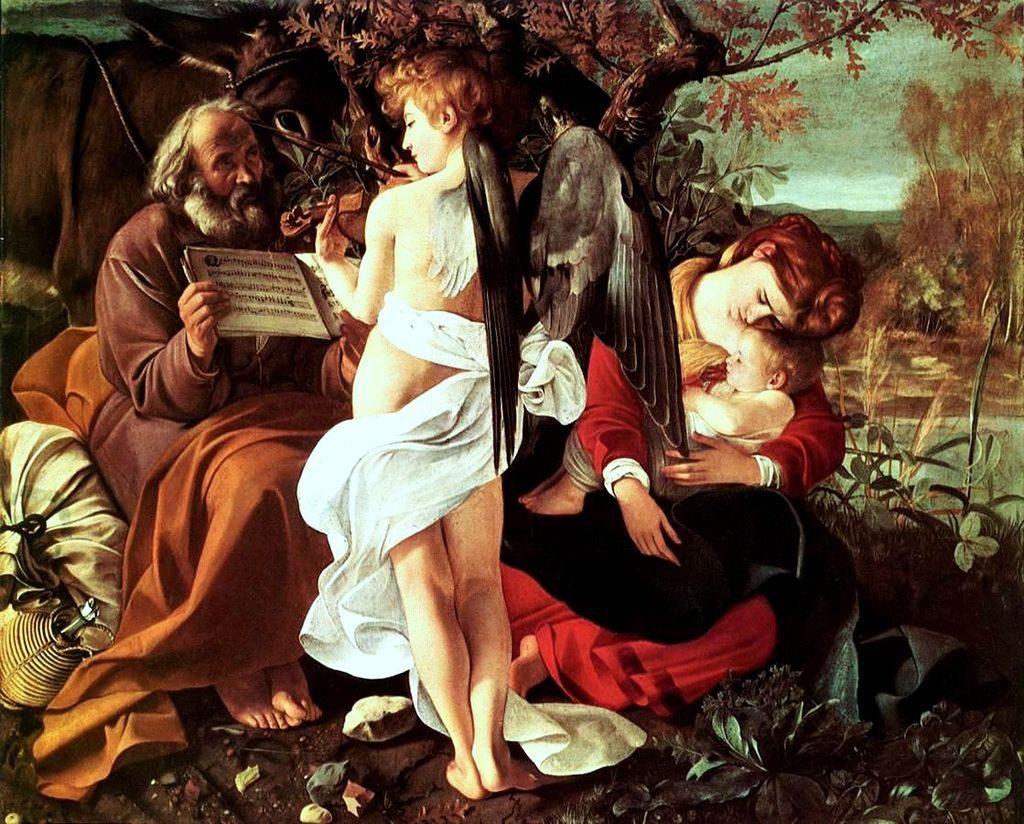 peinture Madonna Del Passeggio