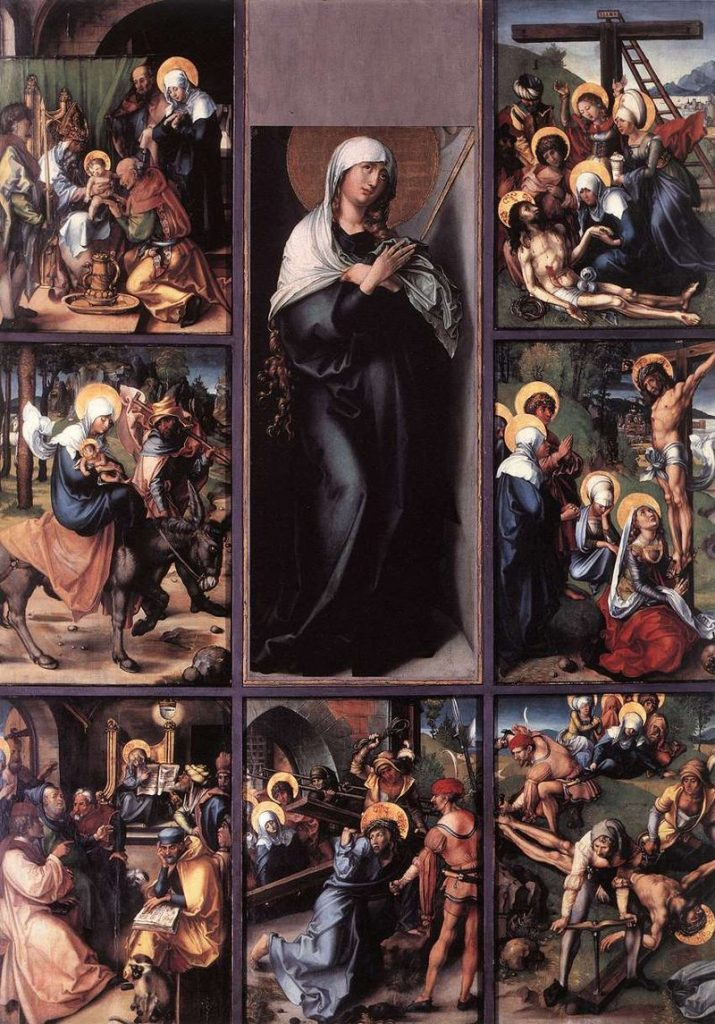 Polyptyque des sept douleurs d'Albrecht Dürer