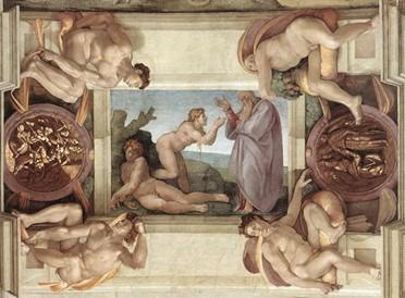 peinture naissance d'Eve