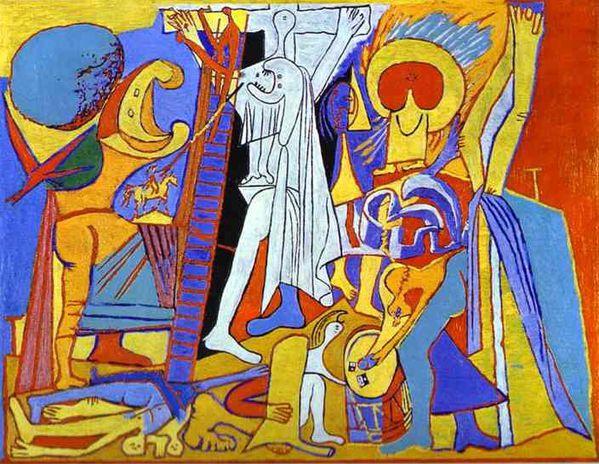 Crucifixion Pablo Picasso