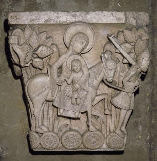 Sculpture Fuite Egypte