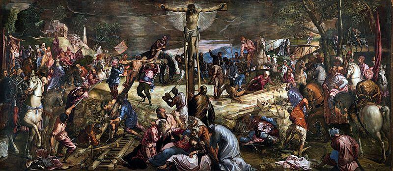 peinture Crucifixion