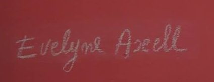 Signature Evelyne Axell