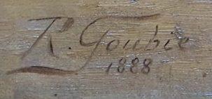 Signature Jean Richard Goubie