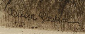 Signature Lucien Gautier
