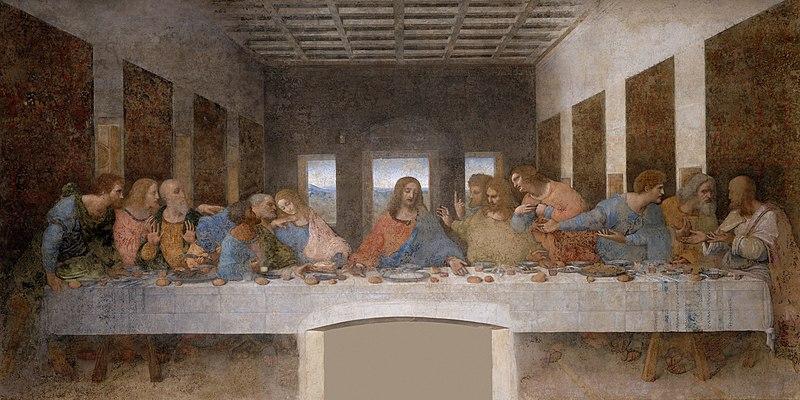 Léonard de Vinci La Cène